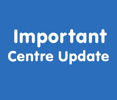 Important centre update 404 x 346